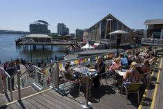 Snapshot: 21 Photos of Cardiff, Wales (Doctor Who's Turf) | Anglophenia | BBC America Cardiff Bay, Cardiff Wales, Outdoor Cafe, Bbc America, Republic Of Ireland, Places Of Interest, Capital City, Adventure Time, Wales