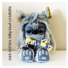 $60.00 Fergus Yeticub by CuteCritters on Handmade Australia