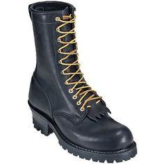 Hathorn Boots H7806 Mens FR 10 Inch Logger Work Boots