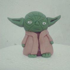 Mestre Yoda em pasta americana