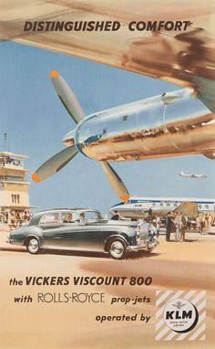 Rolls-Royce & Royal Dutch Airlines.