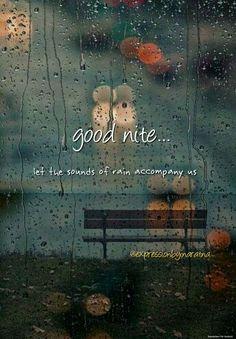 Rain: Good Nite..