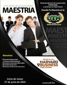 #Maestrías #UTH #Honduras #Universidad