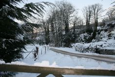 North Wales in the snow