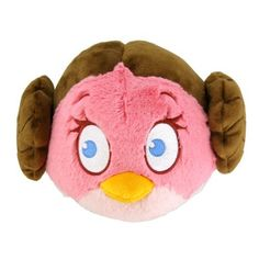 Angry Birds Star Wars 5″ Plush – Leia : Amazing Discounts Your #1 Source for Video Games, Consoles & Accessories! ~ I CANNOT TAKE IT!!