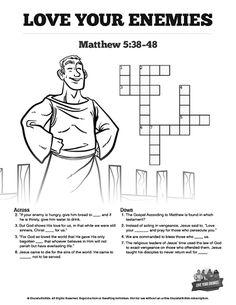 Matthew 5 Love Your Enemies Bible Mazes Your Class Is Going To Love Solving This Fun And