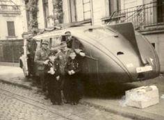 Strange Cars, Military Vehicles, Ww2, Trucks, Busses, Prague, Hot Rods, Vintage, Cars