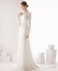vestido novia manga larga 13