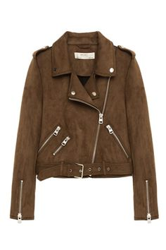 A beautiful Zara Suede Effect Jacket $100
