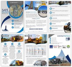 Company Profile Designers South Africa   Order Yours Now   Web Devine Brochure Design Layouts, Brochure Template, Flyer Template, Corporate Profile, Business Profile, Presentation Folder, Presentation Design, Company Profile Design, Booklet Design
