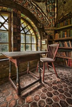 Fonthill Library Loft | Fonthill Castle, Doylestown, PA | Flickr