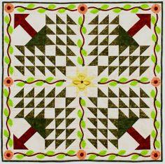 Autum pines quilt images   2011 Trend-Tex Quilters Challenge