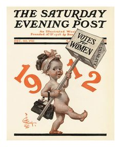JC Leyendecker is often remembered for depicting the New Years Baby, with his depictions appearing on the cover of The Saturday Evening Post's New Years issues for nearly 40 years. Happy New Year from. Vintage Illustration, American Illustration, Baby New Year, Jc Leyendecker, Saturday Evening Post, Old Magazines, Vintage Magazines, Nouvel An, Norman Rockwell