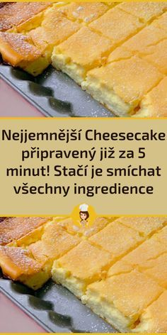 Czech Desserts, Sweet Desserts, Easy Desserts, Quick Recipes, Easy Dinner Recipes, Easy Meals, Cooking Recipes, Pumpkin Recipes, Cake Recipes