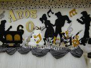 Festa dos Anos 60 Decoração Festa   Festa e Decoração