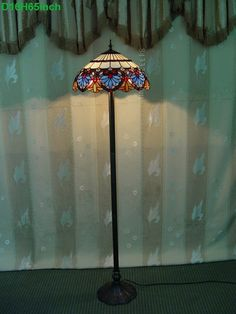 Baroque Tiffany Lamp	16S6-36F7