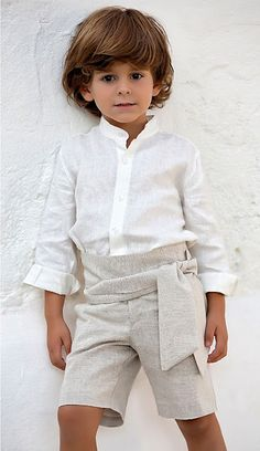 Tienda Moda Mascotas infantil y juvenil Baby Pictures, Boy Fashion, Frocks, Boy Outfits, Rompers, Street Style, Wedding Dresses, Ring Boy, Clothes