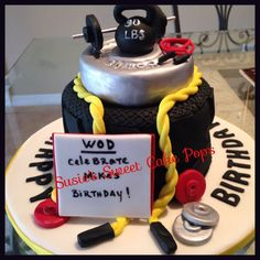 Image result for weightlifting themed cake