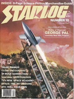 Starlog 10  November 1977 Issue  George Pal  Grade by ViewObscura