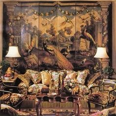 Interior Design and Antiques Chinoiserie, English Country Decor, Interior Decorating, Interior Design, Classic Interior, French Decor, Beautiful Interiors, Decoration, Interior Inspiration