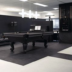Pool table for the bigger living room? Was totally against this but, this would be perfect for entertaining. My fiancé will be happy. Now I need to sale these couches lol.