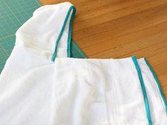 DIY Hooded bath towel