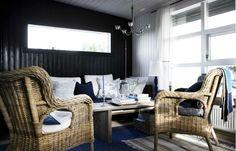 A cabin - via Home and Delicous magazine