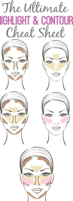 Younique has everything you need to Highlight and Contour your face while following this tutorial! Try our BB Flawless Complexion Enhancers, Moodstruck Minerals Concealers, and Moodstruck Minerals Blu (Diy Face Highlighter)