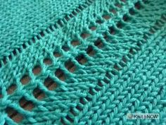 If you don't have enough needles on your knitting machine to knit the width you need, consider adding decorative seams. These techniques are perfect for garm...