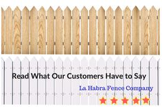 Read What Hy Customers Of La Habra Fence Company Orange County Are Saying About Our