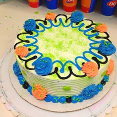I love this one. DQ cake