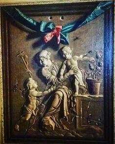 """#Trompeloeil """"#SainteFamille"""" Jean Valette-Penot #MuséeIngres #Montauban  où s'invitent 1 araignée & 1 mouche !  #MontaubanTourisme #TarnetGaronne #MidiPyrénées #tourismemidipy #LanguedocRoussillonMidiPyrénées #igersmontauban #igersmidipyrenees  #igersfrance #ig_france #musée #museum  #trésorspatrimoine #patrimoine #latergram"""