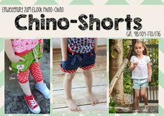 """Erweiterung """"Chino-Shorts"""" kids von FeeFee  auf DaWanda.com"""