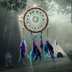 Dream catchers are probably the most famous ancient dream legend nowadays. The legend of dream catchers goes back to the age of Native Americans. Back then it was believed that there was a spider woman who take care of children and people by making a spider web every morning. Because the spider woman cannot take care of everyone, the Native American people start building their own spider webs seeking for protection. The idea of spider webs then developed to be the dream catcher.