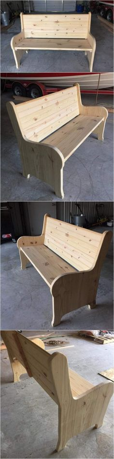 Apart from the tables that one can make from the wooden pallet, the demand for the simple sofas are also too high. One can make sofas from the wooden pallet and advertise them, placing cushions are not even mandatory because people can choose the one they would like to themselves.