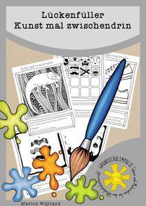 Kunst mal zwischendrin – Unterrichtsmaterial in den Fächern Kunst Vegetarian Kids, Discipline, Image Categories, Art Themes, Woodland Party, Funny Kids, Art School, Pin Collection, Food Art