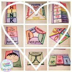Repurpose paper fortune-tellers into awesome test-review foldables! Lots of ideas on this blog.