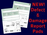 VC40 Defect & Damage Report Pads