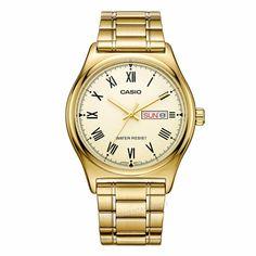 US $75.98 - Casio Watch Top Brand Quartz Gold Wrist Watches Men MTP-V006G-9B fashion Casual Golden Hodinky Relogio Masculino Casio classic