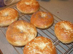 Homemade Bagels! Oh how I love Bagels!