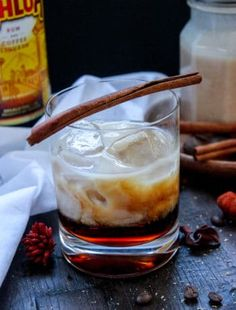The Lion, The Witch, and The Pumpkin Spice White Russian - Bonappeteach Pumpkin Spice Creamer, Pumpkin Pie Spice, Cooking On The Grill, Cooking Time, Fall Recipes, Keto Recipes, Flavored Ice Cubes, Flavor Ice, Samoa Cookies