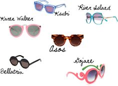 Favorite Summer Trend: Statement Sunglasses!