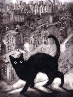 London Moggie No2 by Ian MacCulloch I remember reading that cats are called, moggie. now, is it just black cats?