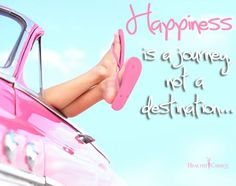 happiness is a journey, not a destination - Collection Of Inspiring Quotes, Sayings, Images Happy Quotes Inspirational, Inspiring Quotes About Life, Motivational Quotes, Motivational Thoughts, Cute Quotes, Funny Quotes, Joy Quotes, Quotes Images, Daily Quotes