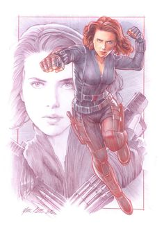 Black Widow by Mark Raats