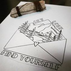 38 tattoo ideas for people who like camping .- 38 Tattoo-Ideen für Menschen, die gerne campen 38 tattoo ideas for people who like to camp pleasure – - Doodle Drawings, Cute Drawings, Doodle Art, Tattoo Drawings, Drawing Sketches, Pencil Drawings, Sketching, Tattoo Painting, Painting & Drawing