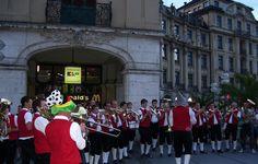 Volksmusiker, Muenchen #streetartists Marienplatz