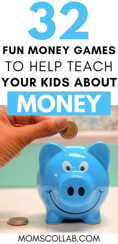Are you trying to teach your kid in kindergarten, grader,or grader how to count money? Click through for these fun money games for kids to teach them counting and math through fun games, with printables and money. Learning about counting and money doesn Educational Activities For Kids, Indoor Activities For Kids, Learning Games, Kids Learning, Stem Activities, Money Games For Kids, Help Teaching, School Fun, Fun Games