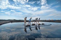 신안 증도 태평염전 (Jeungdo Salt Farm)
