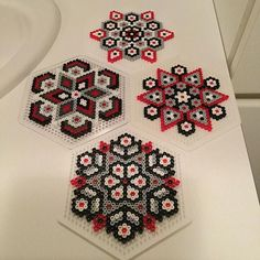 Christmas ornaments hama beads by TCAshop